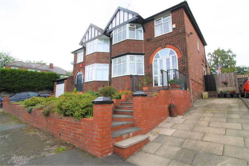 3 Bedrooms Semi Detached House for sale in Meadfoot Avenue, Prestwich