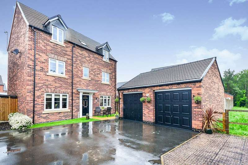 4 Bedrooms Detached House for sale in Adams Park Way, Kirkby-in-Ashfield, Nottingham, NG17