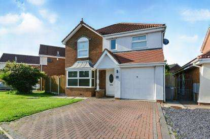 4 Bedrooms Detached House for sale in Cathedral Drive, Heaton With Oxcliffe, Morecambe, Lancashire, LA3