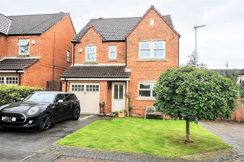 4 Bedrooms Detached House for sale in Thistley Court, Grimethorpe, Barnsley, S72 7AZ
