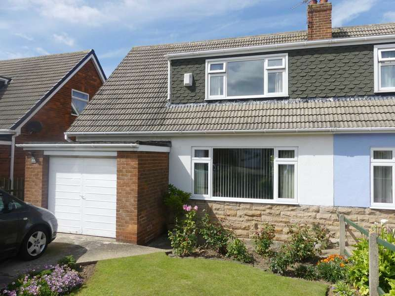 3 Bedrooms Semi Detached House for sale in Wilton Bank, Saltburn By The Sea