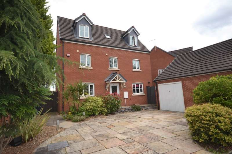 5 Bedrooms Detached House for sale in Chatsworth Fold, Spring View, Wigan, WN3 4LT