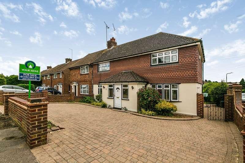 5 Bedrooms Semi Detached House for sale in Leechcroft Avenue, Swanley, Kent, BR8
