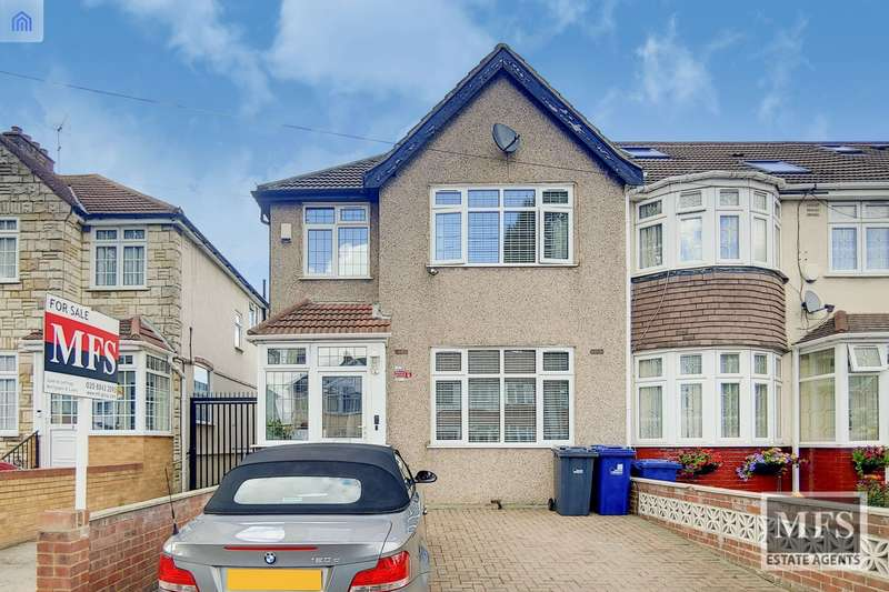 3 Bedrooms House for sale in Burns Avenue, Southall, UB1