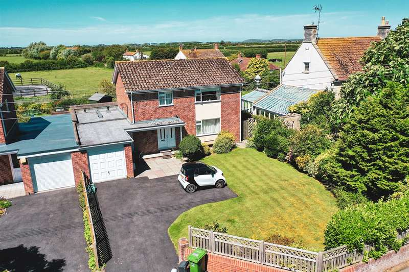 4 Bedrooms Detached House for sale in Burton Row, Brent Knoll