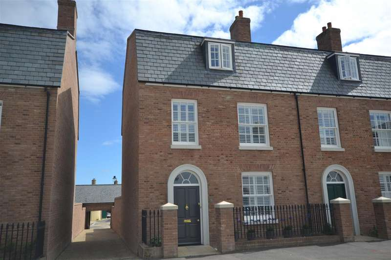 4 Bedrooms Terraced House for sale in Crown Street West, Poundbury, Dorchester
