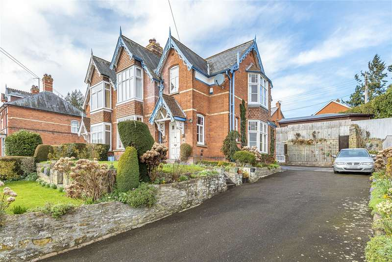 4 Bedrooms Semi Detached House for sale in 14 Victoria Road, Kington, Herefordshire, HR5 3BX