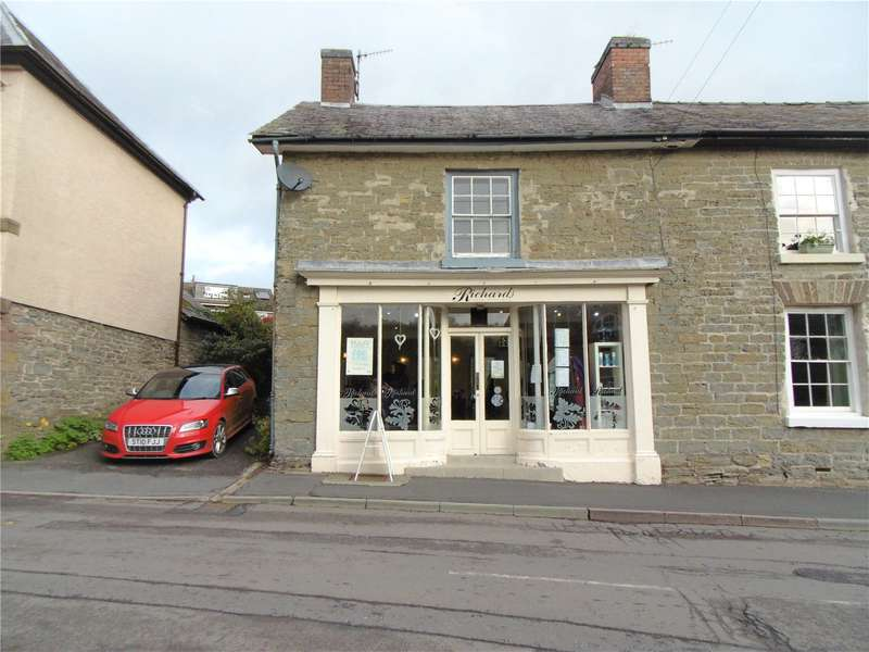 2 Bedrooms End Of Terrace House for sale in 2 The Square, Clun, Craven Arms, Shropshire, SY7 8JA