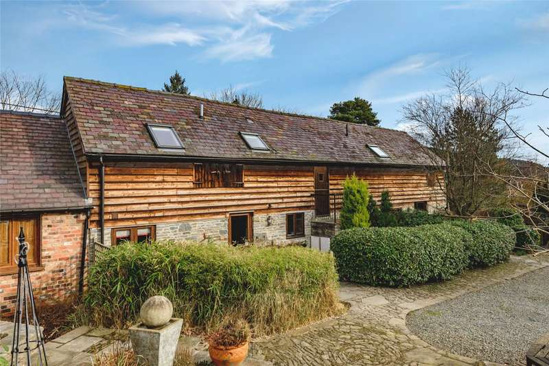 2 Bedrooms Barn Conversion Character Property for sale in Nr Chapel Lawn, Bucknell, Shropshire, SY7 0BN