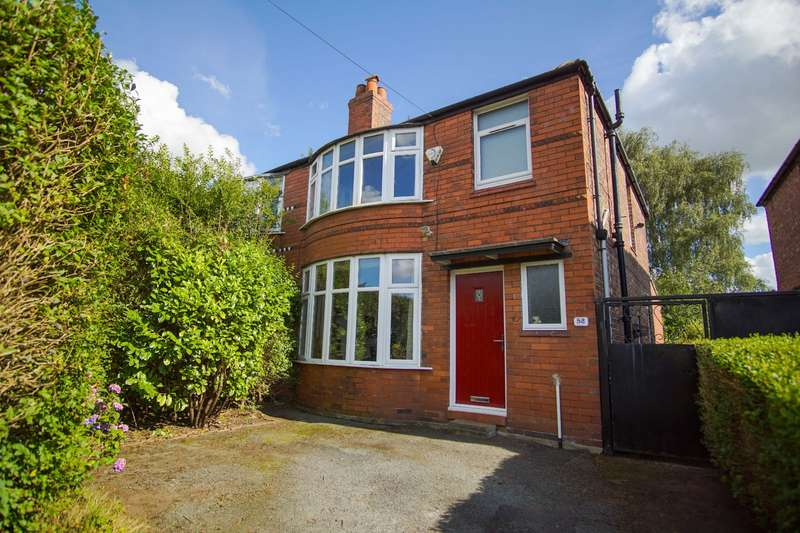 3 Bedrooms Semi Detached House for sale in Heathside Road, Manchester, Greater Manchester, M20