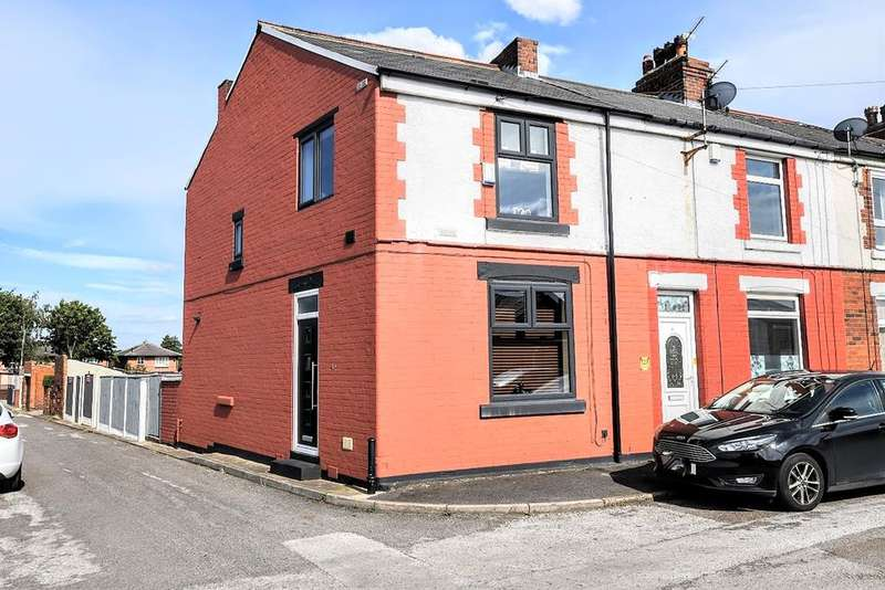 3 Bedrooms End Of Terrace House for sale in North Road, Royston, Barnsley, S71 4DE