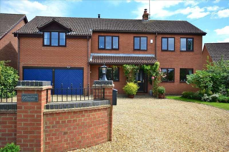5 Bedrooms Detached House for sale in Sutton Road, Walpole Cross Keys, King's Lynn