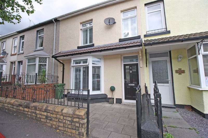 3 Bedrooms Terraced House for sale in Tudor Terrace, Aberdare, Mid Glamorgan