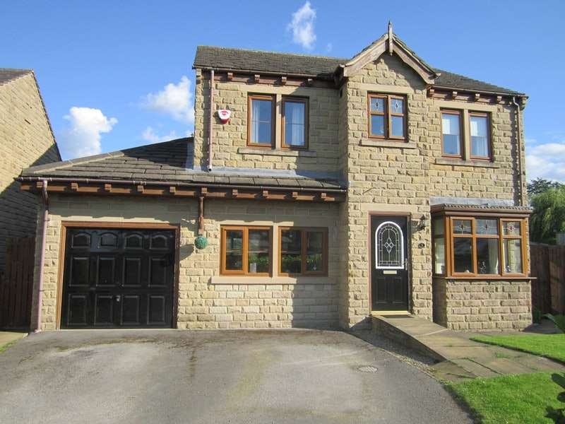 4 Bedrooms Detached House for sale in Tithe Barn View, Brighouse, West Yorkshire, HD6