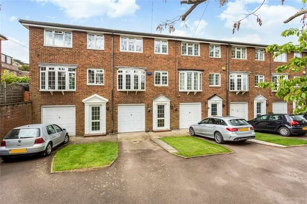 3 Bedrooms Town House for sale in 2 Bradbourne Court, Bradbourne Vale Road, SEVENOAKS, Kent