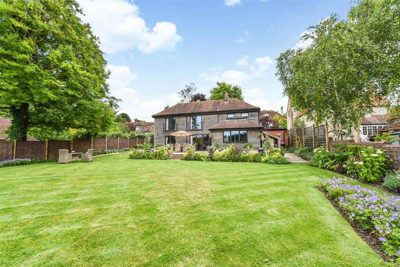 4 Bedrooms Detached House for sale in Burpham, Arundel