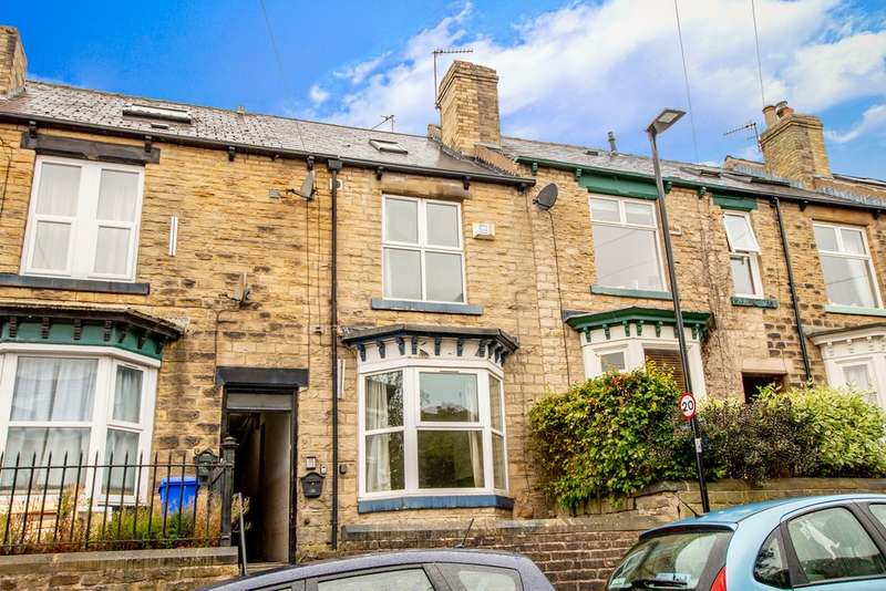 4 Bedrooms Terraced House for sale in 49 Brighton Terrace Road, Crookes, S10 1NT