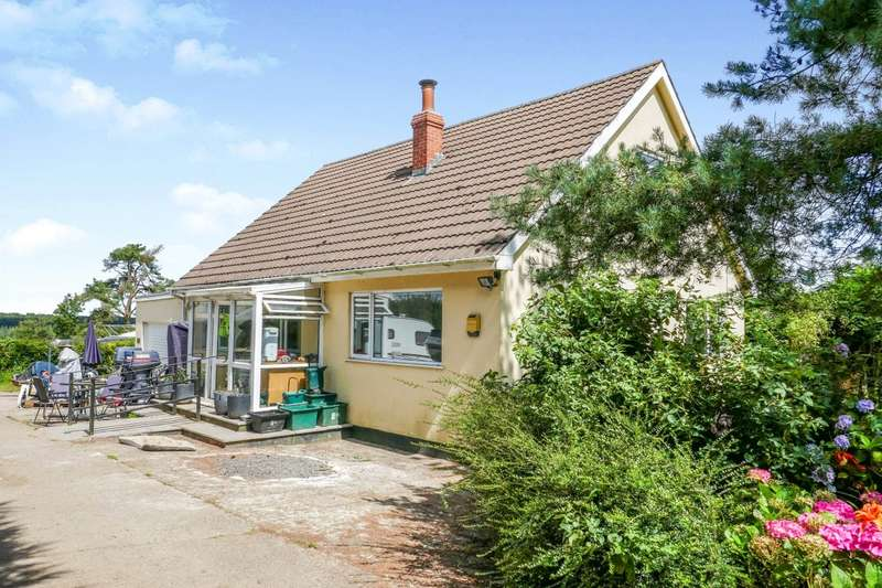 4 Bedrooms Detached Bungalow for sale in Morecombe Cross, Ashwater, Beaworthy, EX21
