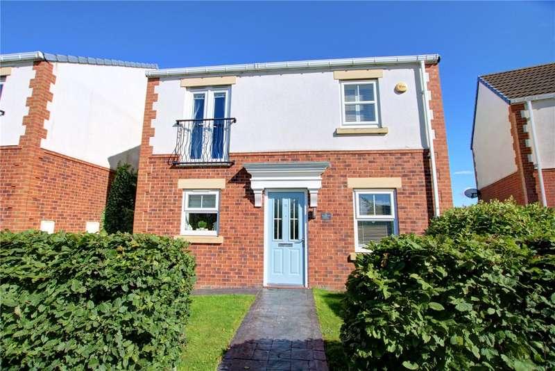 4 Bedrooms Detached House for sale in Magnolia Walk, Spennymoor, DL16