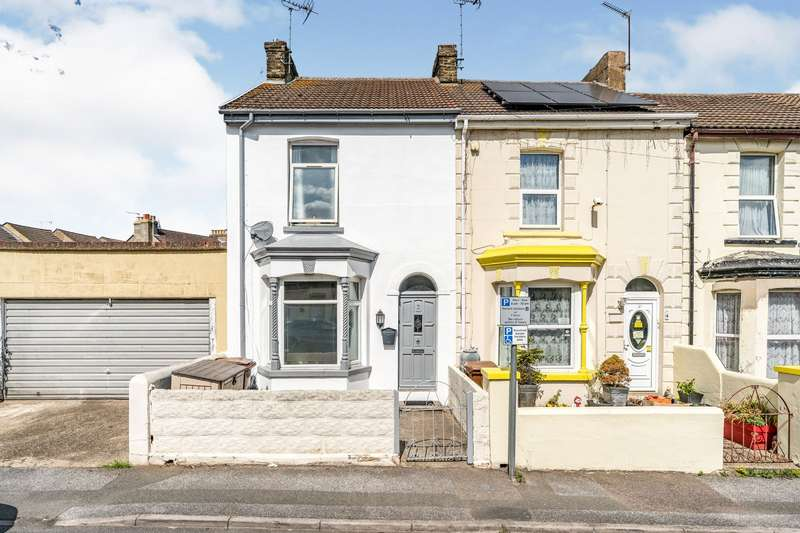 2 Bedrooms End Of Terrace House for sale in Wellington Road, Gillingham, Kent, ME7