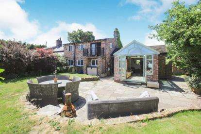 3 Bedrooms Semi Detached House for sale in Bonis Hall Lane, Prestbury, Macclesfield, Cheshire