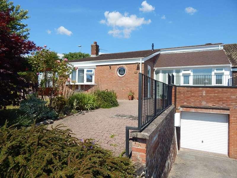 3 Bedrooms Semi Detached Bungalow for sale in Grove Hill, Colyton, Devon