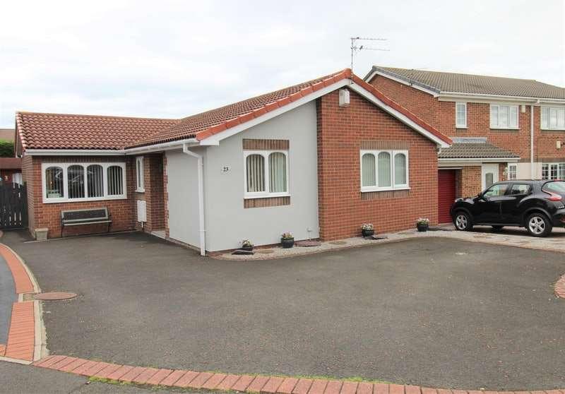 3 Bedrooms Bungalow for sale in Avebury Avenue, Choppington, Northumberland, NE62