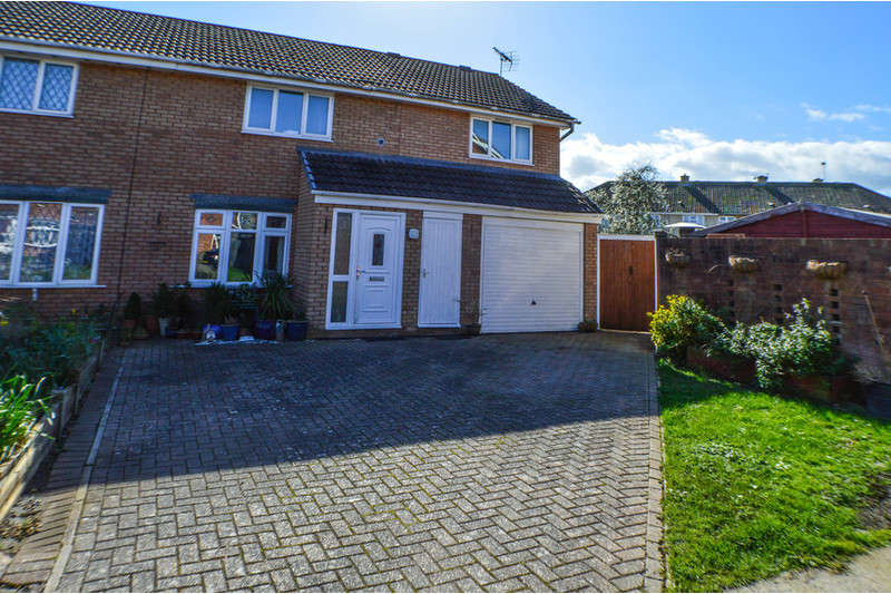 4 Bedrooms Semi Detached House for sale in Hampton Close, Bridgwater