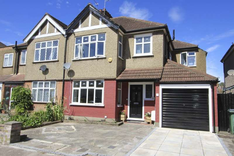 3 Bedrooms Semi Detached House for sale in Woodberry Avenue, Harrow