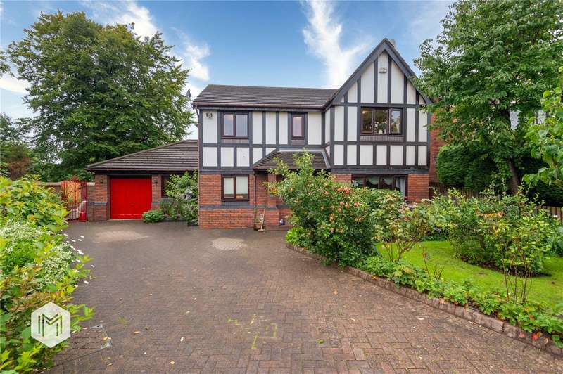 4 Bedrooms Detached House for sale in Braemar Drive, Bury, Greater Manchester, BL9