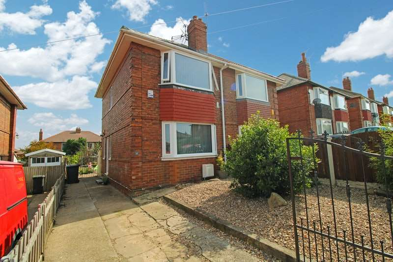2 Bedrooms Semi Detached House for sale in Masefield Road, Doncaster, South Yorkshire, DN2