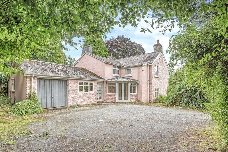 4 Bedrooms Detached House for sale in Llanelwedd, Builth Wells, Powys, LD2 3RD