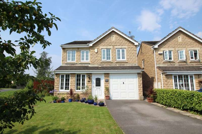 4 Bedrooms Detached House for sale in Hurst Crescent, Glossop, SK13
