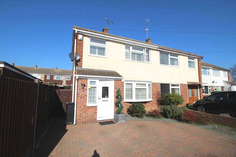 3 Bedrooms Semi Detached House for sale in Shakespeare Drive, Maldon