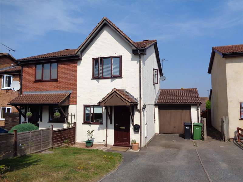 2 Bedrooms Semi Detached House for sale in 22 Oaker View, Leominster, HR6 8SG