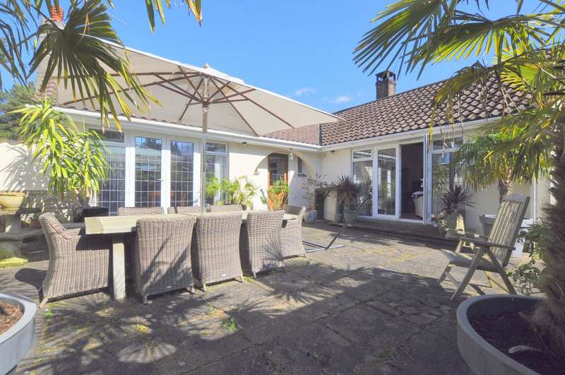 3 Bedrooms Detached Bungalow for sale in St Leonards, Ringwood, BH24 2QJ