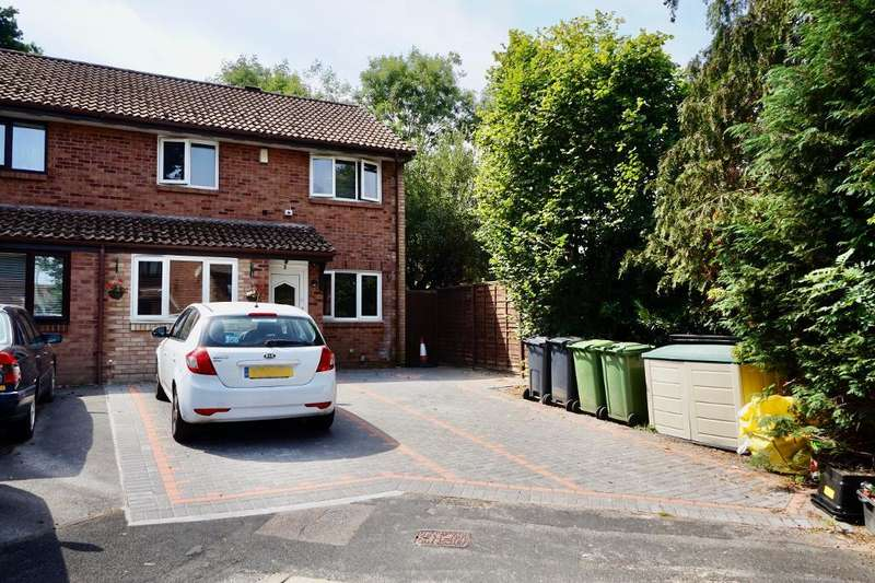 3 Bedrooms Semi Detached House for sale in Elan Close, West End, Southampton, SO18 3QP