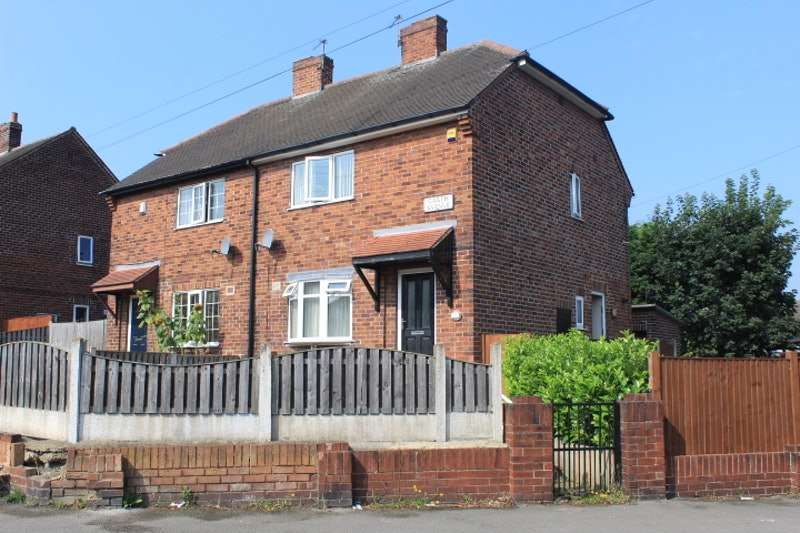 2 Bedrooms Semi Detached House for sale in Garth Avenue, Normanton, West Yorkshire, WF6
