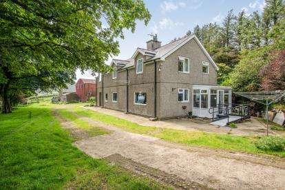 4 Bedrooms Detached House for sale in Mynydd Nefyn, Pwllheli, Gwynedd, LL53