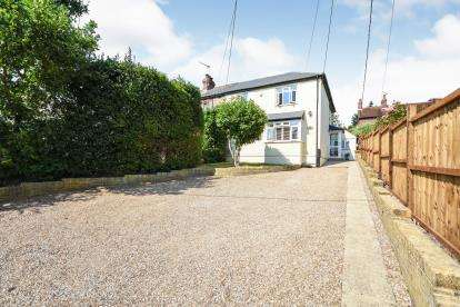 2 Bedrooms Semi Detached House for sale in Woodhill Road, Danbury, Chelmsford