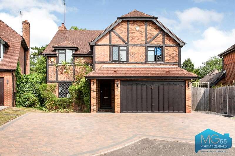 5 Bedrooms Detached House for sale in Garden Close, Arkley, Barnet, EN5