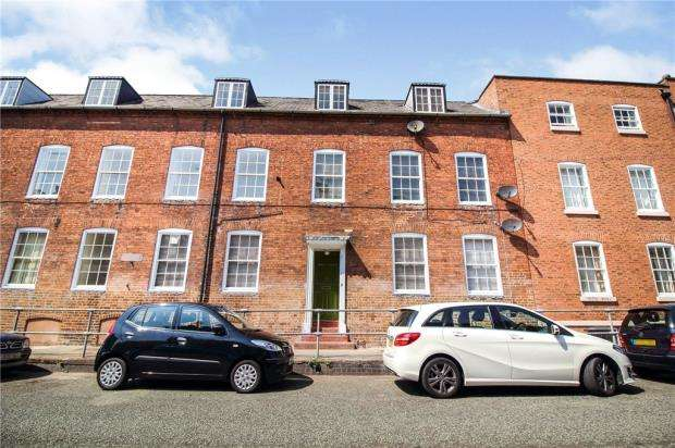 2 Bedrooms Apartment Flat for sale in King Charles Court, Bath Road, Worcester