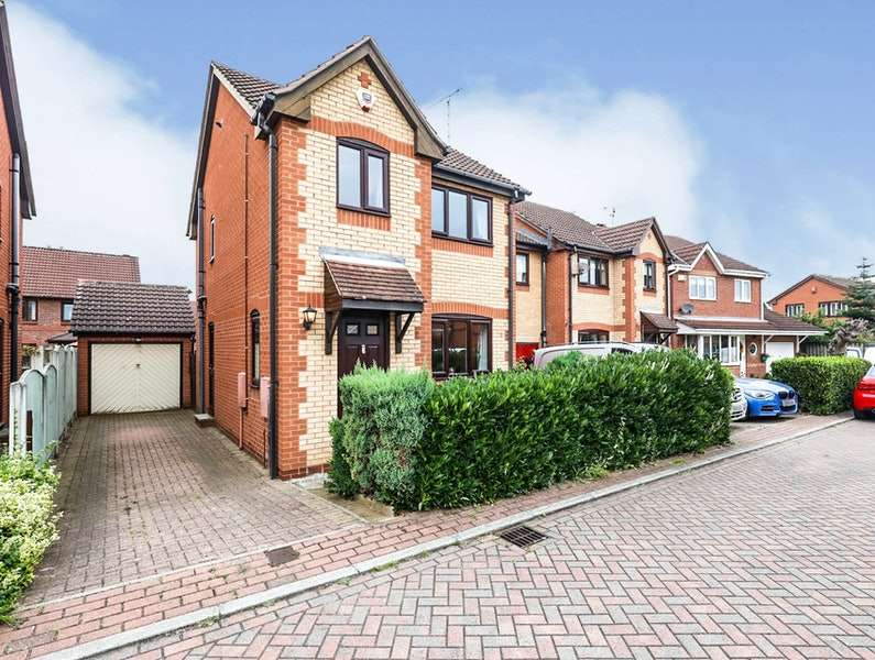 3 Bedrooms Detached House for sale in Raintree Court, Doncaster, South Yorkshire, DN5