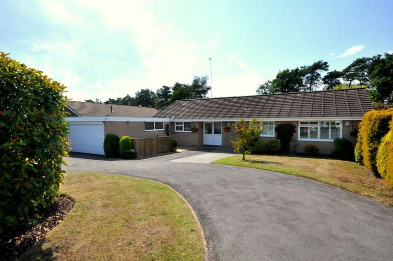 3 Bedrooms Detached Bungalow for sale in Ashley Heath, BH24 2HR