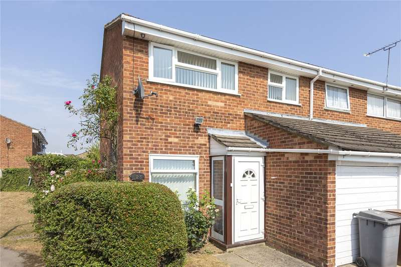 3 Bedrooms End Of Terrace House for sale in Begonia Close, Chelmsford, Essex, CM1
