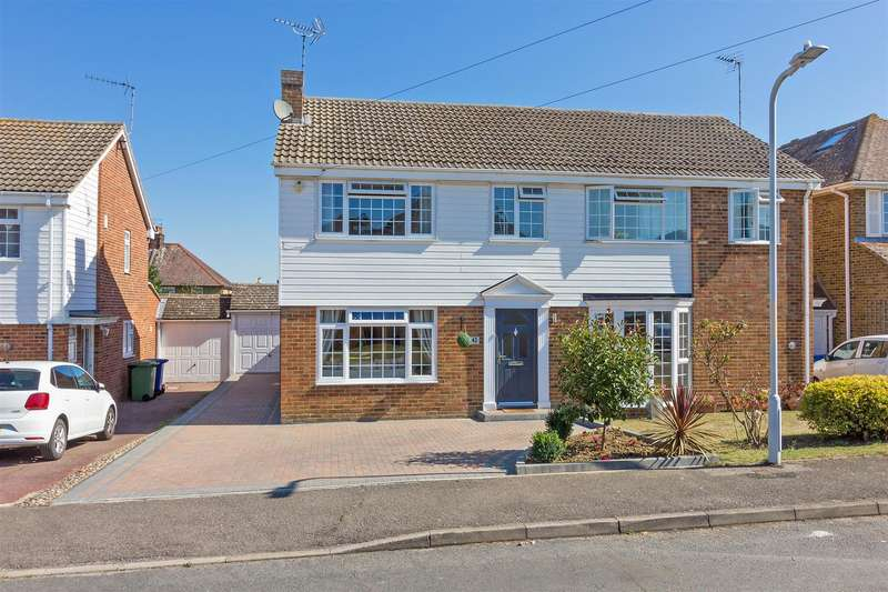 3 Bedrooms Semi Detached House for sale in Doubleday Drive, Bapchild, Sittingbourne