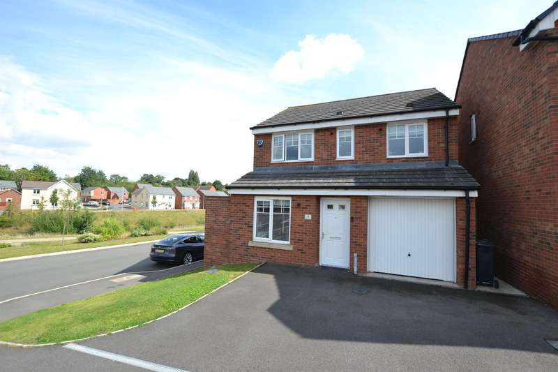 3 Bedrooms Detached House for sale in Hyde Mill Drive, Wollaston, DY8 4GB