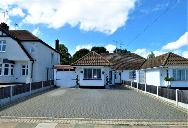 2 Bedrooms Semi Detached Bungalow for sale in The Fairway, Leigh on sea, Leigh on sea, Essex. SS9 4QS