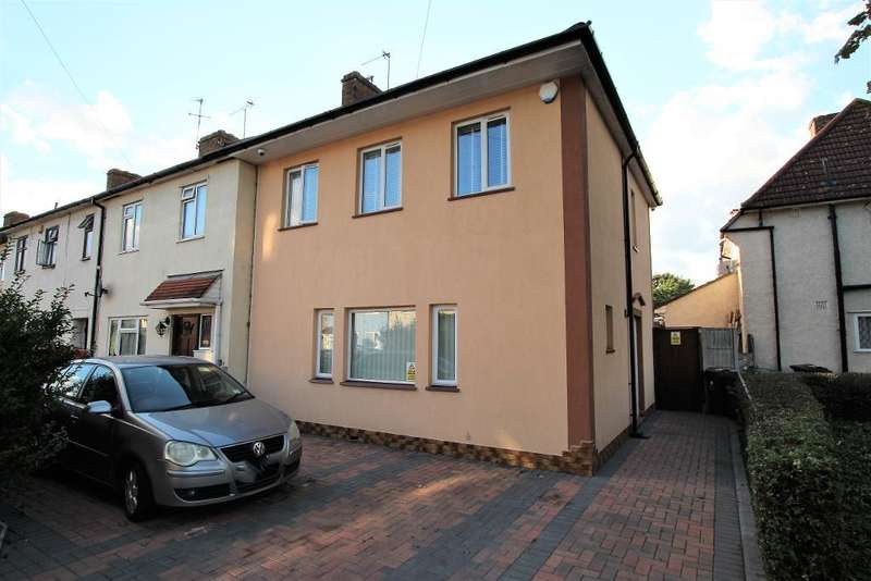 3 Bedrooms End Of Terrace House for sale in Gainsborough Road, Dagenham, Essex, RM8 2DU