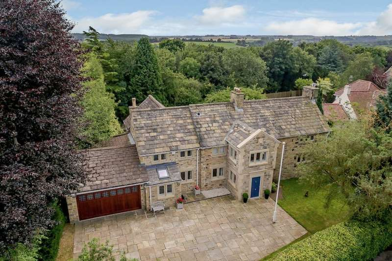 4 Bedrooms Detached House for sale in Wharfe Grove, Wetherby, LS22